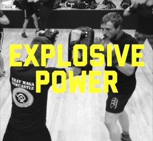 krav maga newcastle Explosive power