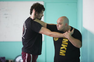Amit Porat at Krav Maga Newcastle