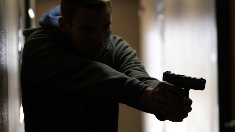 Gun disarms